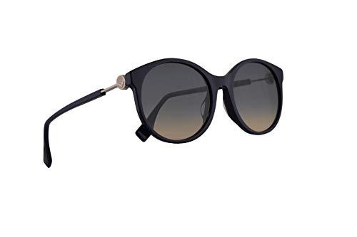 Fendi FF0362/F/S Sunglasses Blue w/Blue Gradient Lens 56mm PJPI4 0362FS FF 0362/F/S