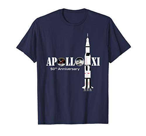 2421175b8ab Apollo 11 50th Anniversary Moon Landing Science Lover Shirt
