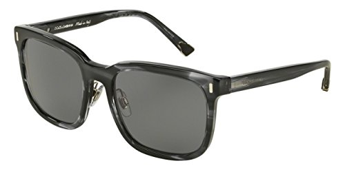 Dolce and Gabbana DG4271 292481 Striped Anthracite DG4271 Square Sunglasses - Striped Dolce And Sunglasses Gabbana