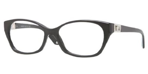 Versace Eyeglasses VE 3170-B BLACK GB1 - Versace Glasses Girl