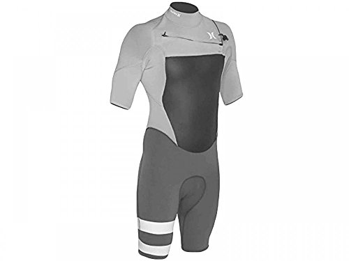 Men's Hurley Fusion 202 Surf Spring Wetsuit Grey MSS0000030-06B (XL)