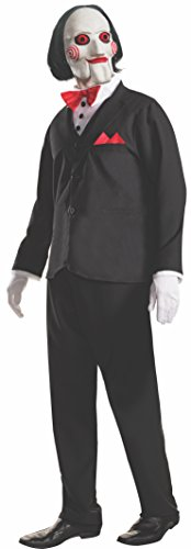 [Rubie's Men's Saw Billy Costume and Mask, Multi, X-Large] (Saw Movie Costumes)