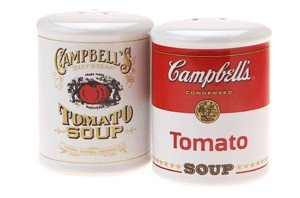 (Gift House Campbell's Soup Salt And Pepper Shakers)