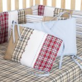Best Bacati Baby Cribs - Bacati Plaids/Stripes Boys Bumper Pad Review