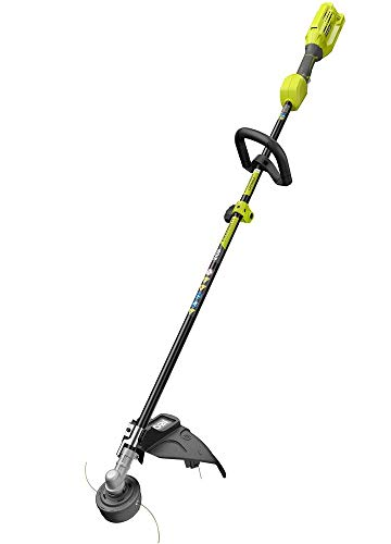(Ryobi 40-Volt Baretool Lithium-Ion Cordless Expand-it Attachment Capable String Trimmer, 2019 Model RY40250 with 13-15