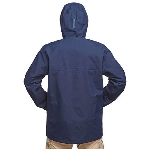3e0d7f55d Forclaz Travel 100 3-in-1 Men's Waterproof Jacket - Blue: Amazon.in ...