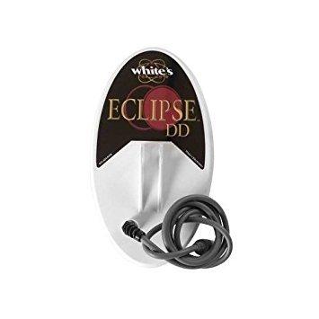 White's 6x10'' Eclipse DD Metal Detector Search Coil (V3I/VX3/MXT/M6/MX5/DFX) by Whites