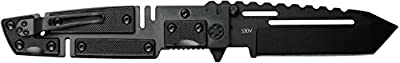 "Mantis Knives MTF-4Ti ""Chaos Folder"" High Tech Folding Blades Knife, Black"