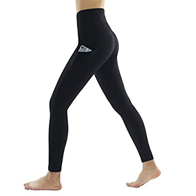 Dragon Fit High Waist Yoga Leggings with 3 Pockets,Tummy Control Workout Running 4 Way Stretch Yoga Pants: Clothing