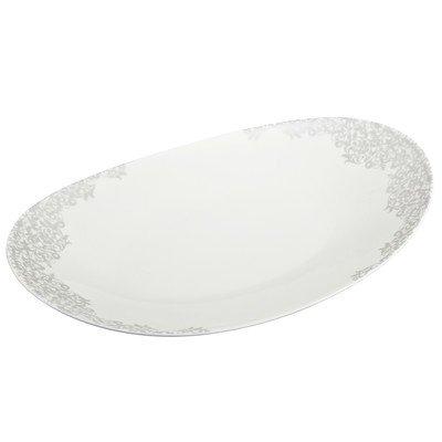 Monsoon Filigree Oval Platter Size: 1