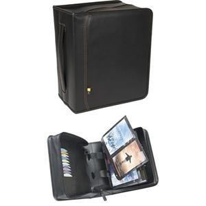 Case Logic DVD Album- 200 DVDs (Black)