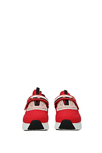 Prada EU 3E6322NEOPRENE5 Rot Damen Sneakers Stoff HrZxH4q
