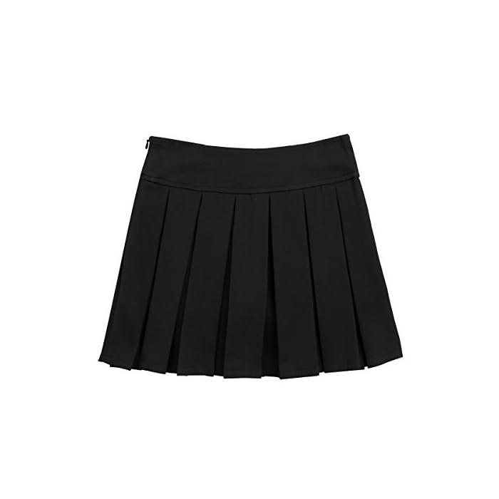 31YI67yx9 L La falda está hecha de material de poliéster y spandex La mesa del talla bajo de la página es SÓLO PARA REFERENCIA. Verifique bien la talla y elija el tamaño adecuado según sus hábitos de vestir Poliéster y Spandex