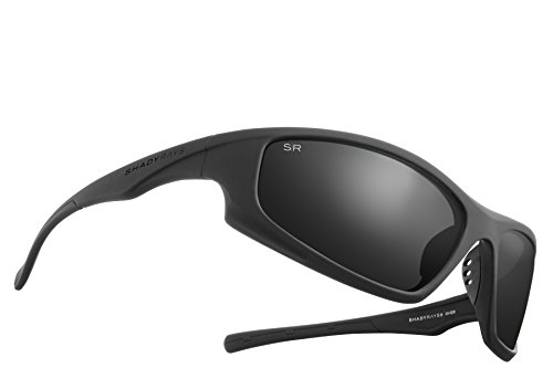 (Shady Rays Polarized Sport Sunglasses X Series, Blackout)