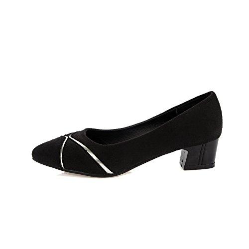 Talon VogueZone009 à Correct Chaussures Unie Femme Légeres Couleur Abricot Dépolissement XOq6Xr