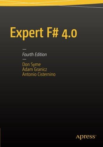 Expert F# 4.0 by Apress