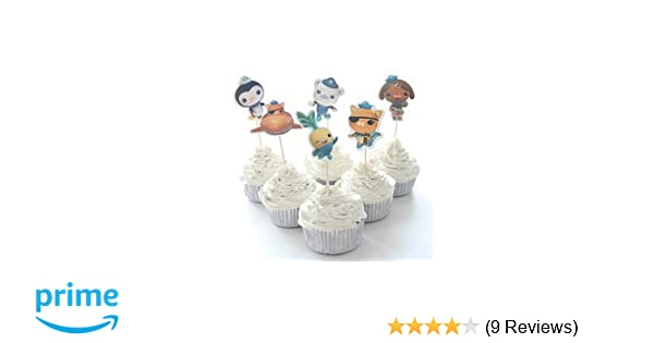 Amazon Octonauts Cupcake Toppers Birthday Party Supplies Favors Pack Of 24 Health Personal Care