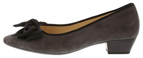 Gabor Tarbert Womens Court Shoes Dark Grey jnGm0aj7b