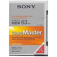 DigitalMaster Mini 63 Minutes HDV, 41 Minutes DVCAM by Sony