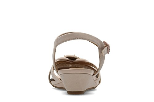 fc5a8700f73 Clarks Parram Stella Nubuck Sandals in Dusty Pink Wide Fit Size 3½  Amazon. co.uk  Shoes   Bags