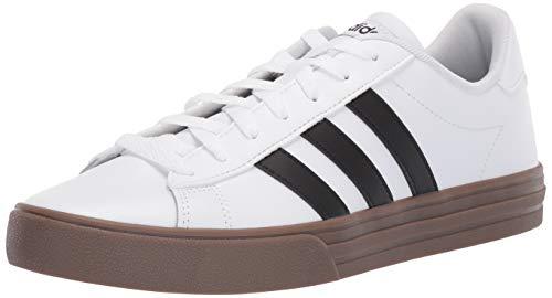 - adidas Men's Daily 2.0, White/Black/Gum, 11 M US