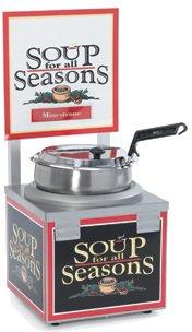 Nemco (6510A-S7) Single 7 Qt Soup Merchandiser w/ Header by Nemco