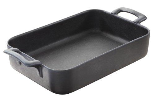 Ceramic Rectangular Roaster - REVOL Belle Cuisine rectangular roasting dish, Cast Iron Style