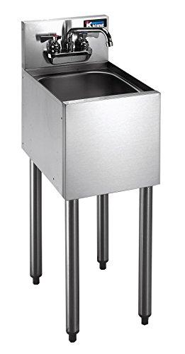 Krowne Metal KR18-1CD Royal 1800 Series Freestanding Underbar Hand Sink Unit 12