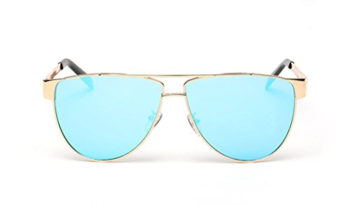 Fashion Color Film Metal Frame Sunglasses Trendsetter - Frames Glasses My Sell