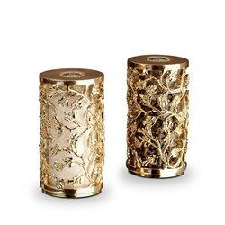 L'Objet Lorel Spice Jewels Gold Salt & Pepper Shakers by L'Objet