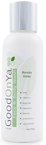 GoodOnYa Natural Anti-Aging Face Wash Cleanser, 4 oz