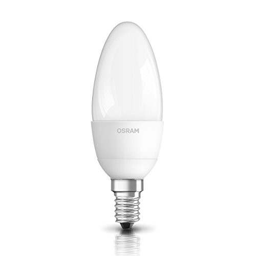 OSRAM LED-Kerzenform E14 Star Classic B / 5,7W - 40 Watt-Ersatz, LED-Kerzenlampe / matt, warmweiß - 2700K
