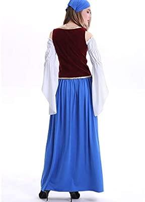 Vestido de traje regional de Ufodb, para mujer, estilo ...