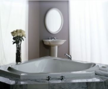 Capella 55u0026quot; X 55u0026quot; Whirlpool Bathtub Color: Almond