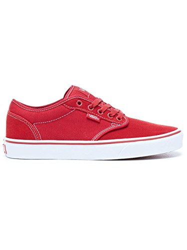 Vans Men's Atwood Skate Shoes (Check Liner/Chili Pepper, 10.5)