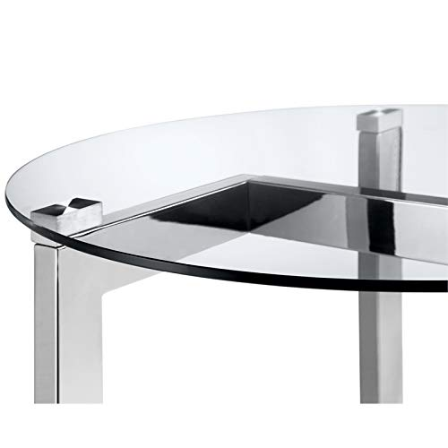 Magnussen T4616 Aries Oval Cocktail Table ()