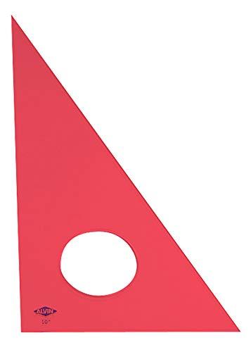 Alvin 130F-8 30-Degree/60-Degree 8 Fluorescent Professional Acrylic Triangle