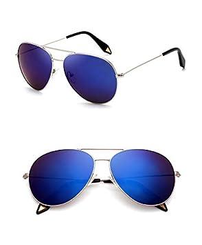 LIUYIAO De Gama Alta Coloridas Gafas De Sol Reflectantes ...