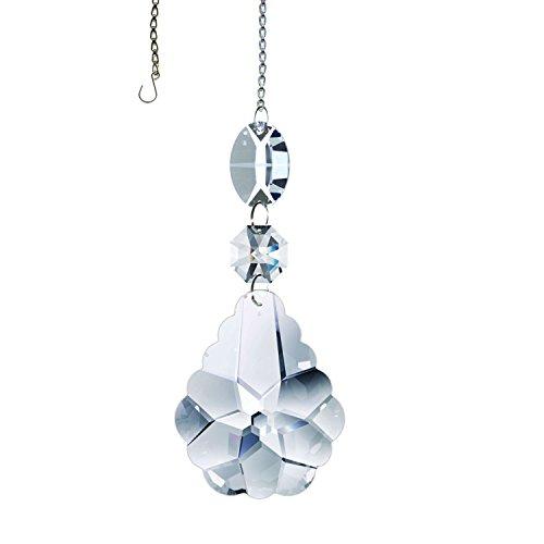 - Swarovski Strass Clear Arabesque Crystal Prism, Sun Catcher, Crystal Ornament, Rainbow Maker
