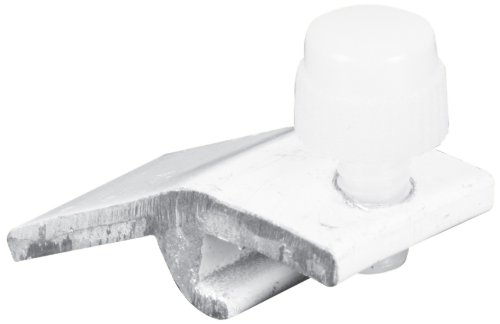 Prime-Line Products T 8727 5/16-Inch  Storm Door Panel Clips, Self Locking with Screws, White,(Pack of 8)