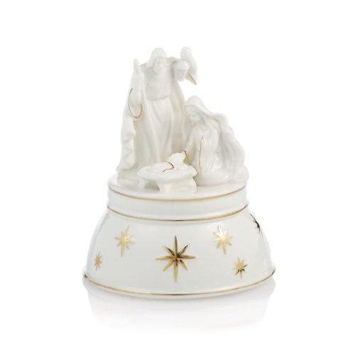 Mikasa Holiday Splendor Nativity Music Box