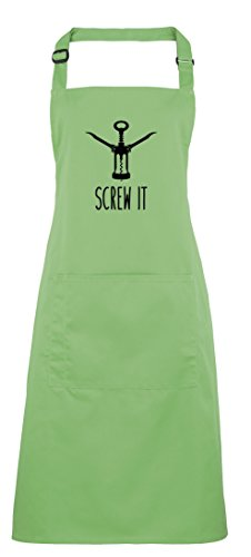 (Screw It, Printed Apron - Apple)