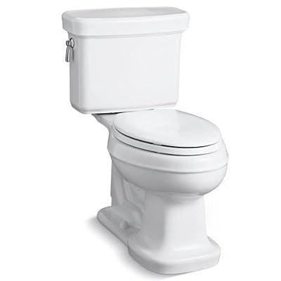 KOHLER Bancroft Comfort Height Two-Piece Elongated 1.28gpf Toilet