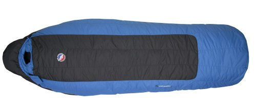 Big Agnes Lost Ranger 15F / -9C Down Sleeping Bag (650 Downtek) – Long Left Zip (Black/Blue), Outdoor Stuffs