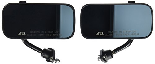 APR Performance CB-100004B Carbon Fiber Mirror (Larger Lens, Universal Formula 3) by APR Performance