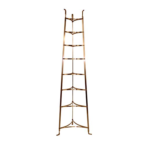 - Enclume Handcrafted 8-Tier Gourmet Cookware Stand Brushed Copper