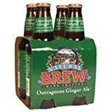 knudsen soda - Knudsen Natural Brew Ginger Ale 4 pack 6 per case. 12 oz each