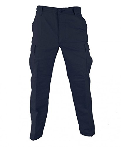 Genuine Gear Navy Poly / Cotton Twill BDU Pants - ML