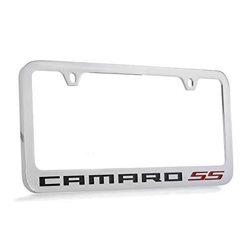 Chevrolet Camaro SS Chrome Plated Metal License Plate Frame Holder