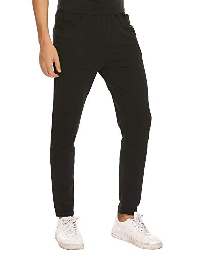 Pantalones Deportivos a Black Deportivas Hombres Battercake Para Cómodo qP7xxZ